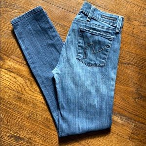 Citizens Of Humanity skinny jeans 25